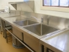 QSA kitchen stainless steel sinks