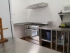 QSA kitchen showing new stove