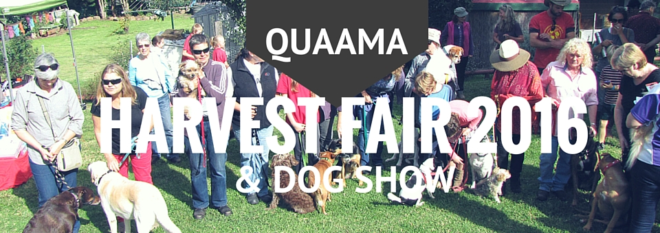 Quaama Fair & Dog Show, 23 April 2016.
