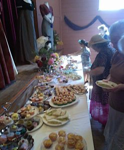 high tea spread ... cakes and more cakes