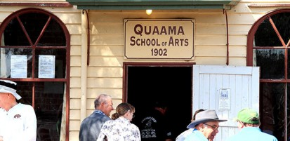 What's on at the Quaama Hall?